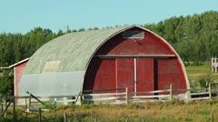 Alberta Barn Stock Footage