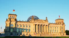 Berlin Attractions Stock Footage