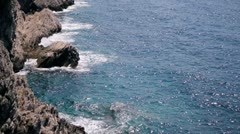 Rocky Sea Shore Stock Footage