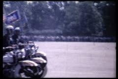 JFK Philadlephia, PA 1963 Stock Footage