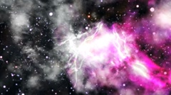 Stars fly through 005 Stock Footage