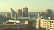 Stock Video Footage of roebling suspension bridge