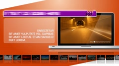 Laptop Stylish Display - After Effects Template - stock after effects