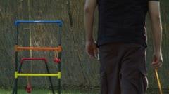 Ladder Golf - stock footage