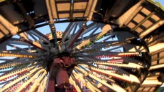 Carnival Rides 28 Stock Footage