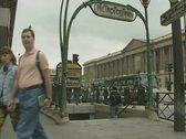 Entrance to Metropolitain Stock Footage