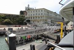 Alcatraz Departure 01 NTSC Stock Footage