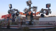 Carnival Rides 10 Stock Footage