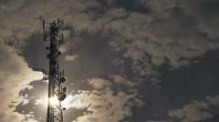 Communication Tower 04 Stock Footage