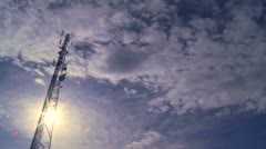 Communication Tower 05 - stock footage
