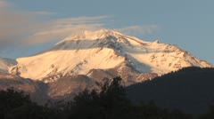 Mt Shasta3 Stock Footage