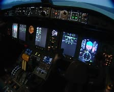 flight simulator for - stock footage