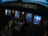 Stock Video Footage of flight simulator for