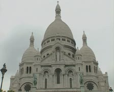 View of Basilica domed roof Stock Footage