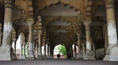 Agra Fort, The Hall of Public Audience Stock Footage