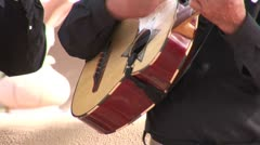 WorldClips-Mariachi Guitar-cu Stock Footage