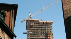 New condo construction. Stock Footage