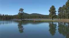 WorldClips-Pinetop Lake-ws Stock Footage