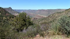 WorldClips-Salt River Canyon Vista Stock Footage