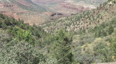 WorldClips-Salt River Canyon-zoom Stock Footage