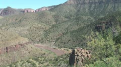 WorldClips-Salt River Canyon Stock Footage