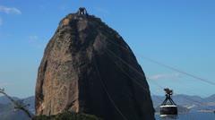 Sugar Loaf Rio de Janeiro Stock Footage