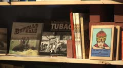 WorldClips-Tubac Books-zoom Stock Footage