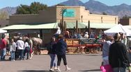 Stock Video Footage of WorldClips-Tubac Fair Carriages-pan