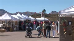 WorldClips-Tubac Fair Family Stock Footage