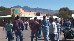 WorldClips-Tubac Fair People Stock Footage