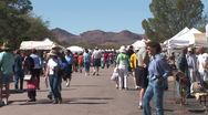 Stock Video Footage of WorldClips-Tubac Fair Street-zoom-2