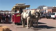 Stock Video Footage of WorldClips-Tubac Horse Carriage Leaves