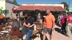 WorldClips-Tubac Sculpture Gallery People Stock Footage