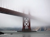 Golden Gate Bridge 05 NTSC Stock Footage