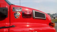 Firetruck - stock footage