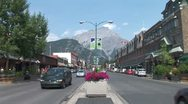 Stock Video Footage of WorldClips-Banff City Center-ws