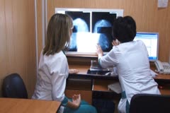 Mammography - stock footage
