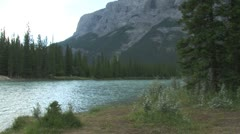 WorldClips-Bow River Morning - stock footage