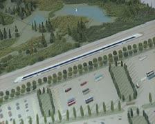 Model railway Stock Footage