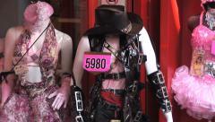 Cosplay Harajuku 13 - Cosplayer costume. Tokyo, Japan. Stock Footage