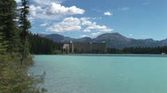 WorldClips-Chateau Lake Louise-xws-2 Stock Footage