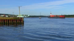 Tanker and Tug Stock Footage
