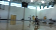 Stock Video Footage of Wheelchair Basketball Game(HD)c