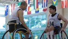 Teen Wheelchair Training(HD)c Stock Footage