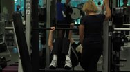 Weight Lifting(HD)c Stock Footage