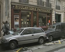 Boulangerie patisserie Stock Footage