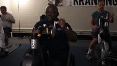 Veterns Arm Exercises(HD)c Stock Footage