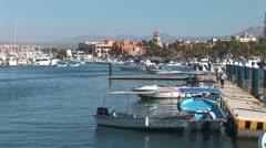 WorldClips-Cabo Marina Boats-xws Stock Footage