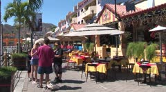 WorldClips-Cabo Marina Cafes Stock Footage