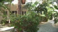 WorldClips-Club Cascades Villas-pan Stock Footage